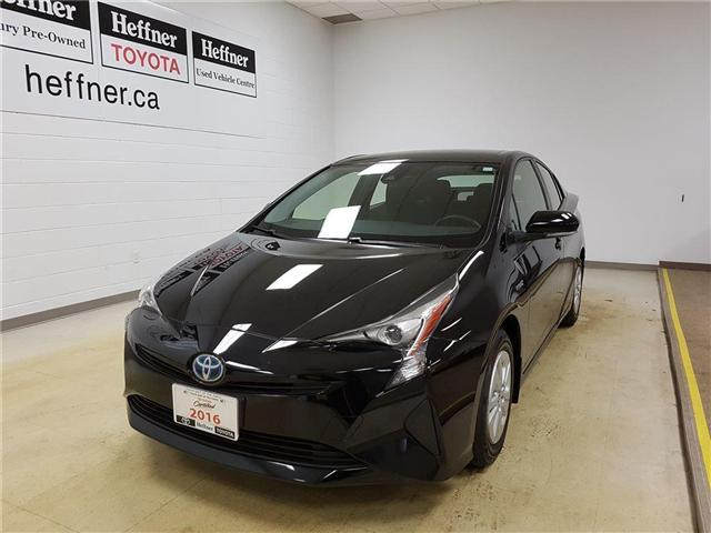 2016 Toyota Prius Base (Stk: 185421) in Kitchener - Image 1 of 20