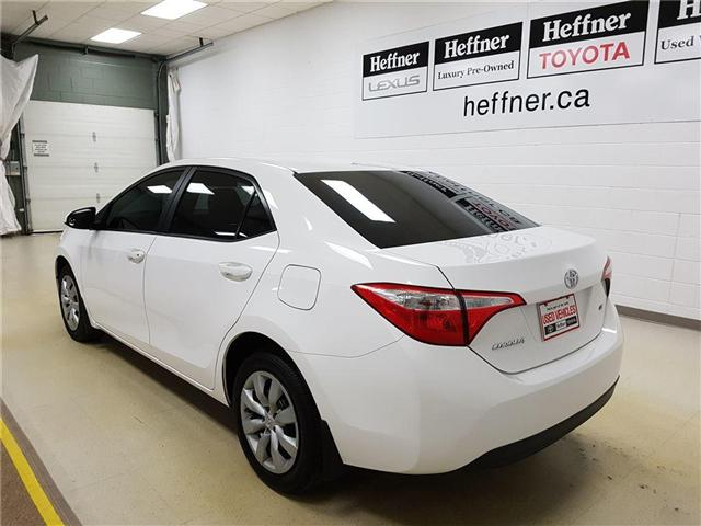 2015 Toyota Corolla LE (Stk: 185473) in Kitchener - Image 6 of 21