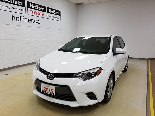 2015 Toyota Corolla LE (Stk: 185596) in Kitchener - Image 1 of 21