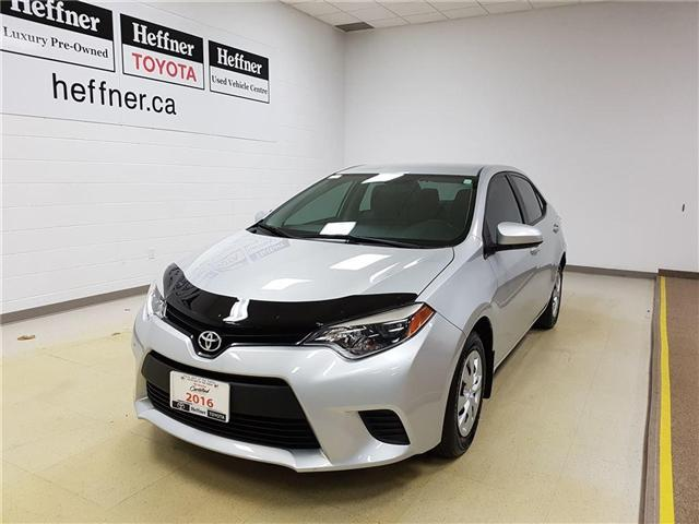 2016 Toyota Corolla CE (Stk: 185634) in Kitchener - Image 1 of 19