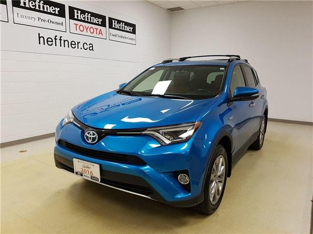 2016 Toyota RAV4 Hybrid  (Stk: 185619) in Kitchener - Image 1 of 22