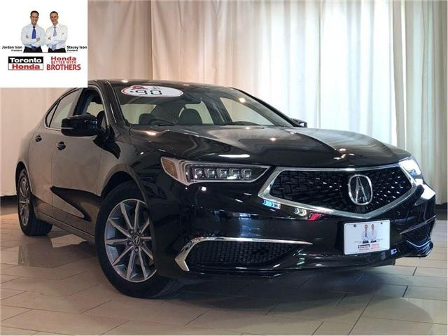 2018 Acura TLX 2.4L W/ TECHNOLOGY PACKAGE | LEATHER | NAVIGATION (Stk: 37287) in Toronto - Image 1 of 25