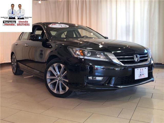 2015 Honda Accord SPORT | AUTO CVT TRANSMISSION | ALLOYS | REARVIEW (Stk: 37026) in Toronto - Image 1 of 18