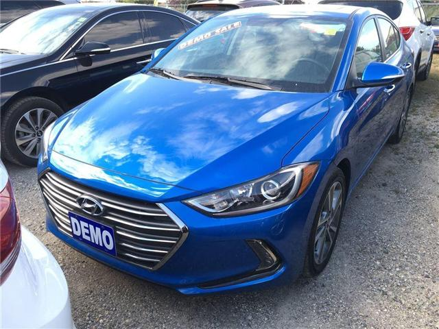 2017 Hyundai Elantra Limited (Stk: HD17011) in Woodstock - Image 1 of 9
