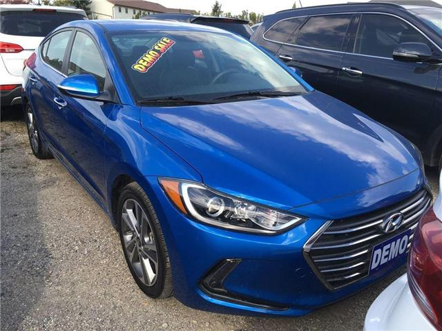 2017 Hyundai Elantra Limited (Stk: HD17011) in Woodstock - Image 2 of 9
