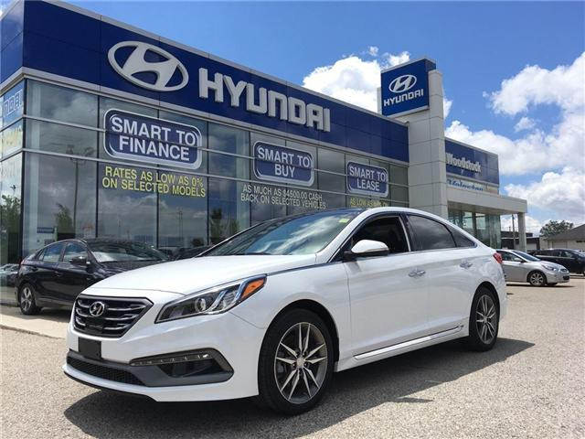 2017 Hyundai Sonata 2.0T Sport Ultimate (Stk: HD17102) in Woodstock - Image 1 of 29