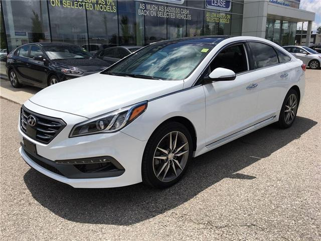 2017 Hyundai Sonata 2.0T Sport Ultimate (Stk: HD17102) in Woodstock - Image 2 of 29