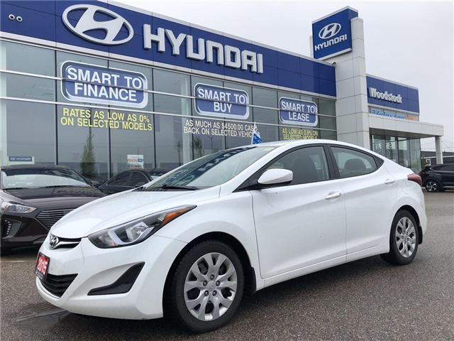 2015 Hyundai Elantra  (Stk: P1289) in Woodstock - Image 1 of 27