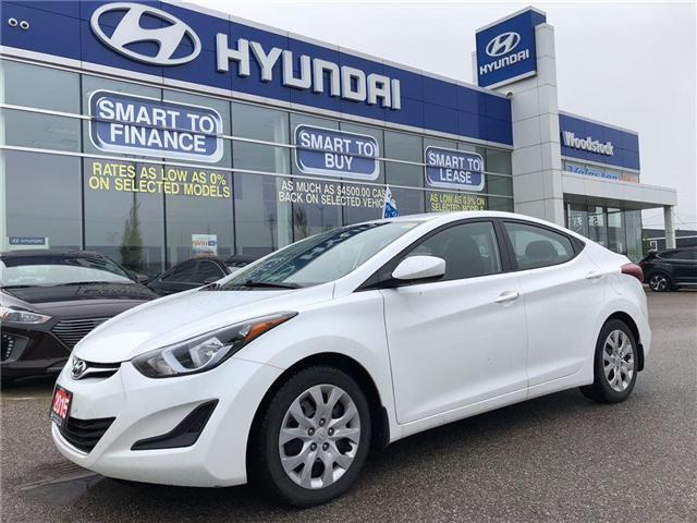 2015 Hyundai Elantra  (Stk: P1289) in Woodstock - Image 2 of 27