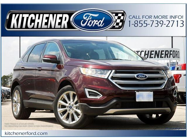 2018 Ford Edge Titanium (Stk: 8D2720) in Kitchener - Image 1 of 7
