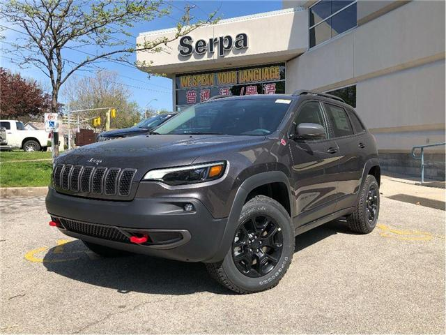 2019 Jeep Cherokee Trailhawk (Stk: 194006) in Toronto - Image 1 of 17