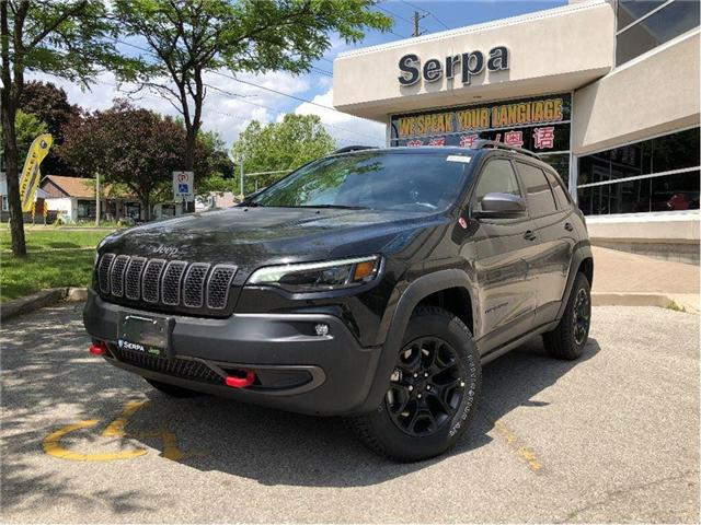 2019 Jeep Cherokee Trailhawk (Stk: 194008) in Toronto - Image 1 of 22