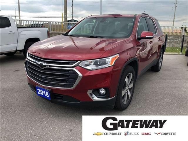2018 Chevrolet Traverse 3LT|TRUE NORTH|AWD|QUADS|LEATHER| (Stk: 135255A) in BRAMPTON - Image 1 of 19