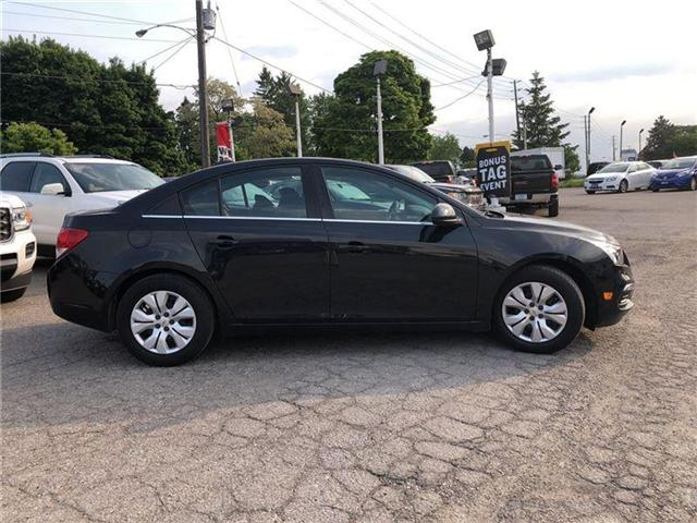 2015 Chevrolet Cruze LT- GM CERTIFIED PRE-OWNED - 1 OWNER TRADE (Stk: 183750A) in Markham - Image 5 of 21
