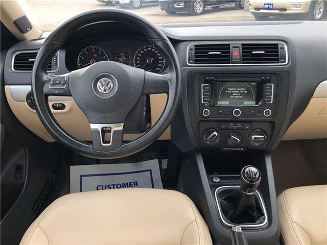 2012 Volkswagen Jetta HIGHLINE-MANUAL-CERTIFIED PRE-OWNED-1 OWNER (Stk: 585048A) in Markham - Image 8 of 17