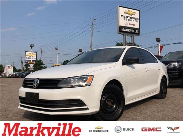 2015 Volkswagen Jetta MANUAL-2 SETS OF TIRES-CERTIFIED PRE-OWNED-1 OWNER (Stk: 301503B) in Markham - Image 1 of 19