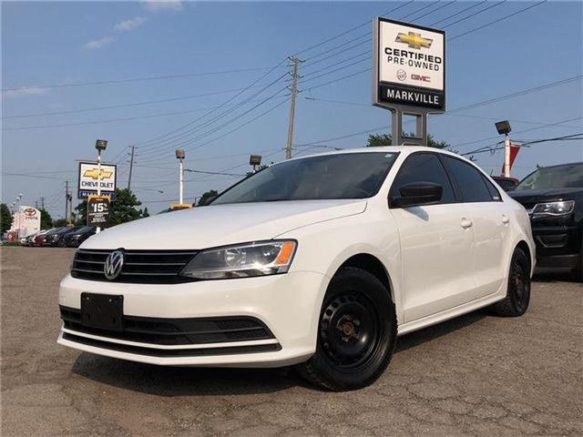 2015 Volkswagen Jetta MANUAL-2 SETS OF TIRES-CERTIFIED PRE-OWNED-1 OWNER (Stk: 301503B) in Markham - Image 8 of 19