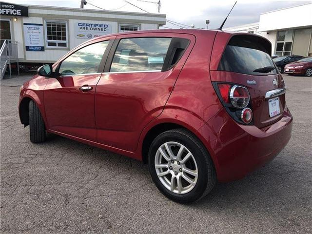 2014 Chevrolet Sonic LT-POWER SUNROOF-GM CERTIFIED PRE-OWNED-1 OWNER (Stk: P6212) in Markham - Image 2 of 22