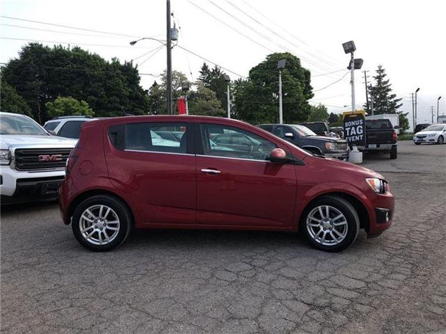 2014 Chevrolet Sonic LT-POWER SUNROOF-GM CERTIFIED PRE-OWNED-1 OWNER (Stk: P6212) in Markham - Image 6 of 22