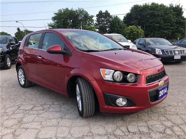2014 Chevrolet Sonic LT-POWER SUNROOF-GM CERTIFIED PRE-OWNED-1 OWNER (Stk: P6212) in Markham - Image 7 of 22