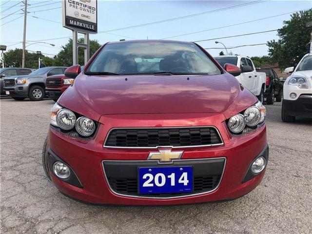 2014 Chevrolet Sonic LT-POWER SUNROOF-GM CERTIFIED PRE-OWNED-1 OWNER (Stk: P6212) in Markham - Image 8 of 22