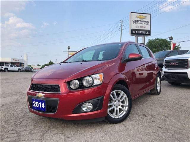 2014 Chevrolet Sonic LT-POWER SUNROOF-GM CERTIFIED PRE-OWNED-1 OWNER (Stk: P6212) in Markham - Image 9 of 22