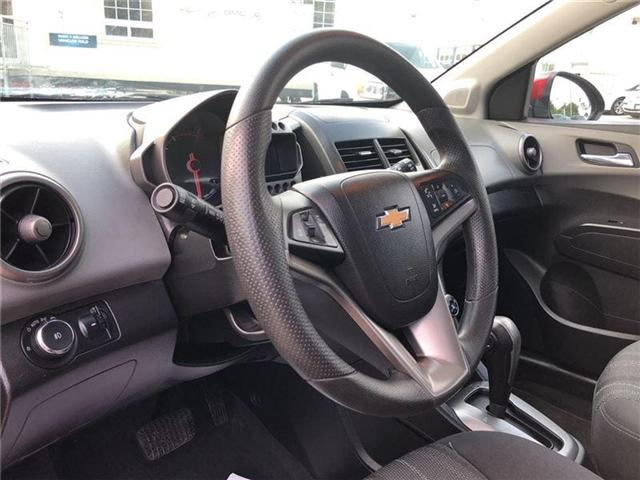 2014 Chevrolet Sonic LT-POWER SUNROOF-GM CERTIFIED PRE-OWNED-1 OWNER (Stk: P6212) in Markham - Image 10 of 22
