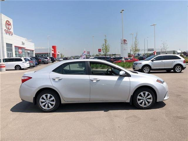 2014 Toyota Corolla  (Stk: D181828A) in Mississauga - Image 8 of 14