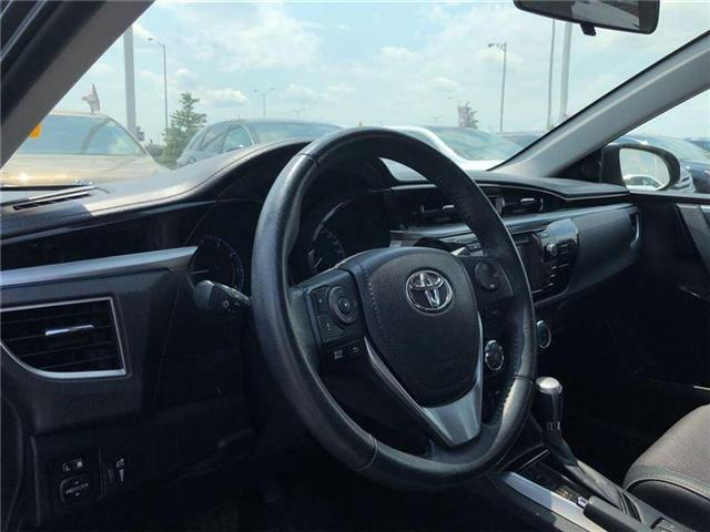 2015 Toyota Corolla  (Stk: D181724A) in Mississauga - Image 10 of 16