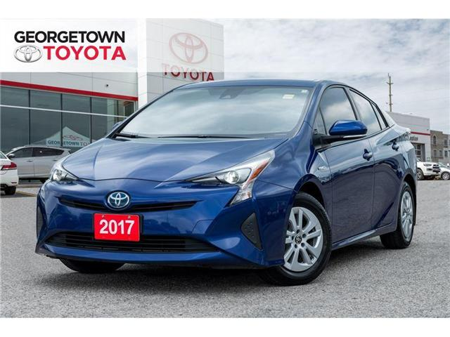 2017 Toyota Prius Hybrid|BACK UP CAMERA|BLUETOOTH|HEATED SEATS (Stk: 17-52167) in Georgetown - Image 1 of 20