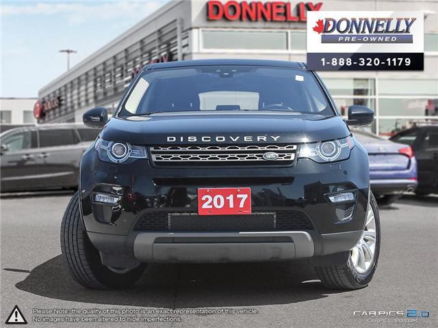 2017 Land Rover Discovery Sport SE (Stk: KU2136A) in Kanata - Image 2 of 27