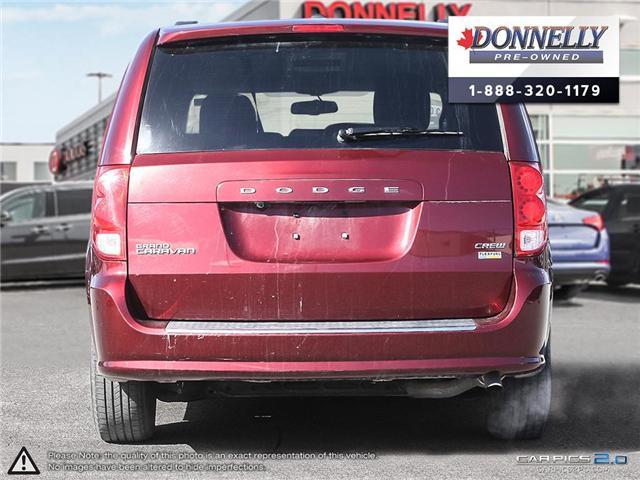 2017 Dodge Grand Caravan Crew (Stk: CLKUR2091) in Kanata - Image 5 of 27
