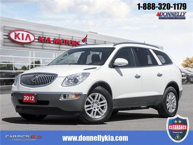 2012 Buick Enclave CX (Stk: CLKU2128) in Kanata - Image 1 of 27