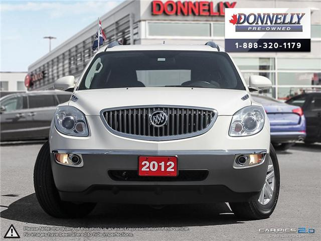 2012 Buick Enclave CX (Stk: CLKU2128) in Kanata - Image 2 of 27