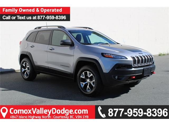 2018 Jeep Cherokee Trailhawk (Stk: S112291A) in Courtenay - Image 1 of 30