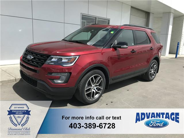 2016 Ford Explorer Sport (Stk: J-896A) in Calgary - Image 1 of 10