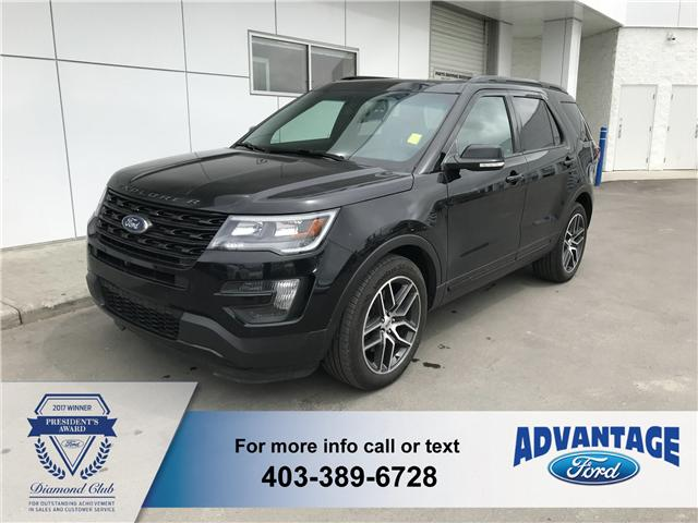 2016 Ford Explorer Sport (Stk: T22462) in Calgary - Image 1 of 8