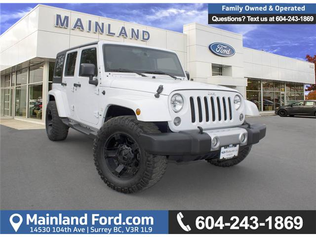 2015 Jeep Wrangler Unlimited Sahara (Stk: 7MU8438B) in Surrey - Image 1 of 24
