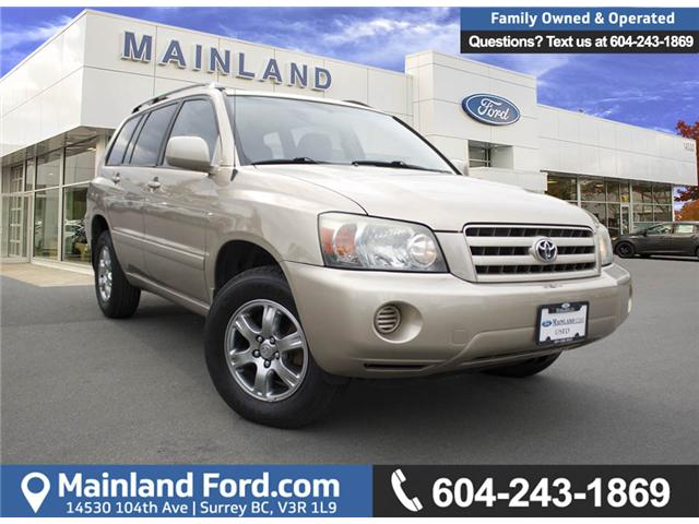 2004 Toyota Highlander V6 (Stk: 8FU2821B) in Surrey - Image 1 of 25