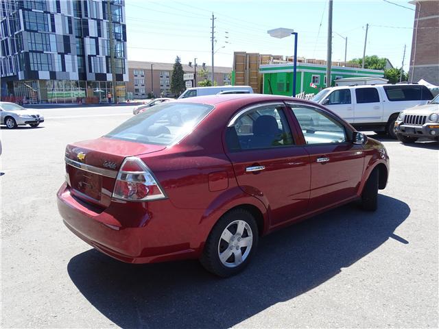 2011 Chevrolet Aveo LT (Stk: ) in Oshawa - Image 3 of 11