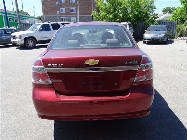 2011 Chevrolet Aveo LT (Stk: ) in Oshawa - Image 4 of 11
