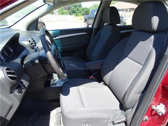 2011 Chevrolet Aveo LT (Stk: ) in Oshawa - Image 10 of 11