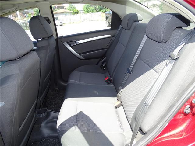 2011 Chevrolet Aveo LT (Stk: ) in Oshawa - Image 11 of 11