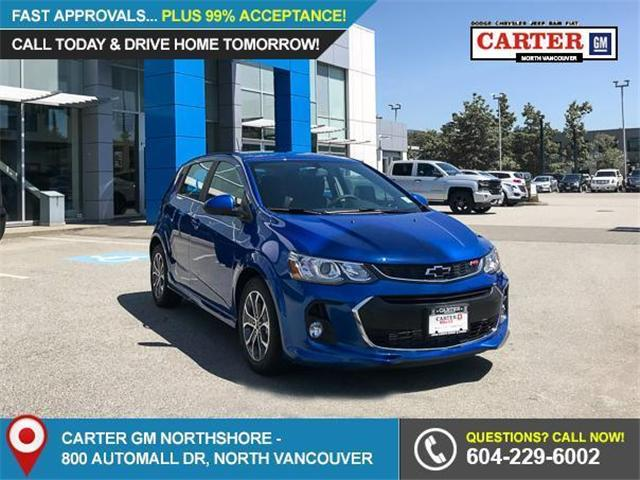 2018 Chevrolet Sonic LT Auto (Stk: 8N65350) in Vancouver - Image 1 of 7