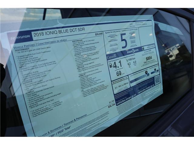 2018 Hyundai Ioniq Hybrid Blue (Stk: 88164) in Saint John - Image 2 of 3