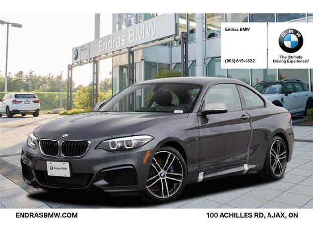 2018 BMW M240 i xDrive (Stk: 20232) in Ajax - Image 1 of 22