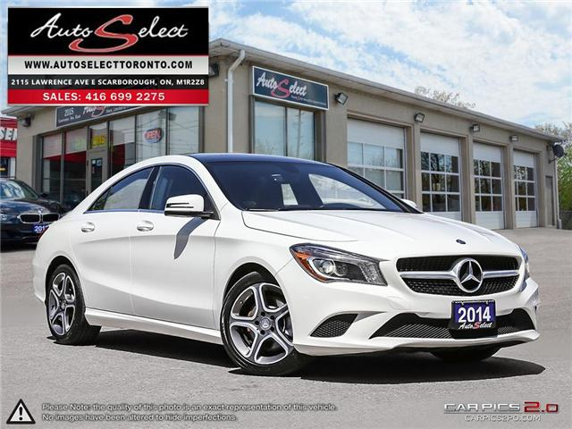 2014 Mercedes-Benz CLA-Class 4Matic (Stk: 214MBCL) in Scarborough - Image 1 of 28