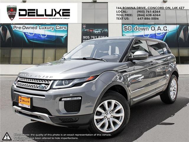 2016 Land Rover Range Rover Evoque SE (Stk: D0403) in Concord - Image 1 of 21
