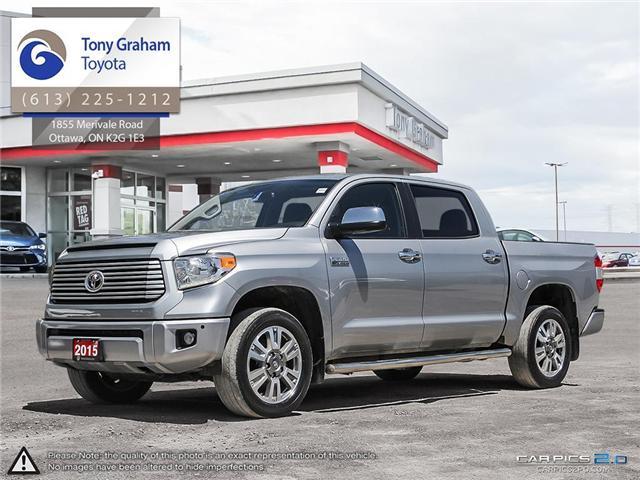 2015 Toyota Tundra Platinum 5.7L V8 (Stk: D11189A) in Ottawa - Image 1 of 25