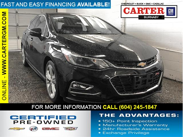 2017 Chevrolet Cruze Premier Auto (Stk: P9-54831) in Burnaby - Image 1 of 24